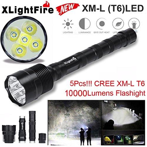 Lights & Lighting T6 Led Hunting Flashlight Xlightfire 28000lm 11 X Xm-l 4 X 18650 Lamp Torch Battery Charger+gun Mount Bicycle Light Use