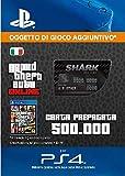 Grand Theft Auto Online - GTA V Cash Card | 500,000 GTA-Dollars | Codice download per PS4 - Account italiano