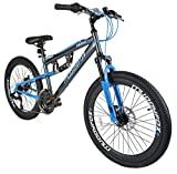 Muddyfox New Boys/Childrens Grey Idaho Bikes Ideal Ages 9-12 Years - Grey - UK Sizes 1-1
