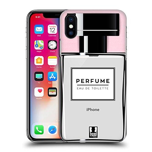 Head Case Designs Parfüm Lebenswichtige Güter Ruckseite Hülle für Apple iPhone X