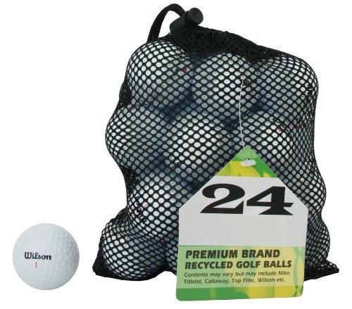Second Chance Wilson 24 Balles de golf de récupération...