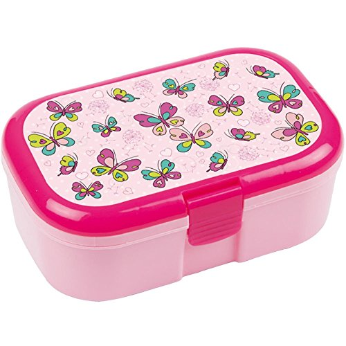 Lutz Mauder Tapirella 10642 Lunchbox mit Schmetterlingsmotiv (Minnie Kind Supplies Party)