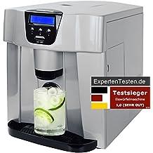 Gino Gelati GG-400 Digitaler Eiswürfelbereiter Eiswürfelmaschine