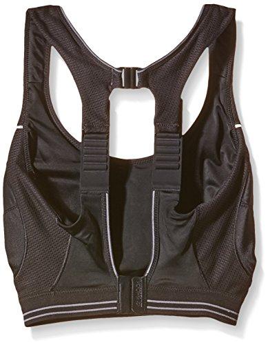 Shock Absorber B5044 Women's Run Sports Bra – Black/Silver, 38FF