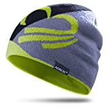AONIJIE Männer/Frauen Winter Wolle Gestrickte Mütze Weichen Warme Ski Hut für Outdoor Sport (Zitrone Farbe)