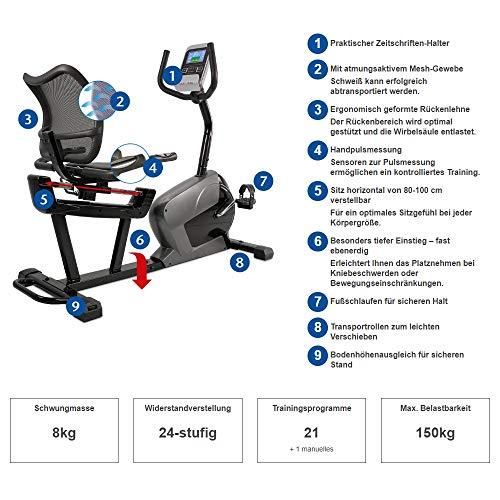 Sitzergometer + Rückenlehne: Sitz Heimtrainer kaufen  Bild 1*
