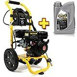 Benzin Hochdruckreiniger 5 PS / 206 bar + 1 l Motorenöl