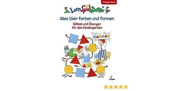 LernSpielZwerge Übungsbuch: Alles über Farben und Formen - Rätsel ...