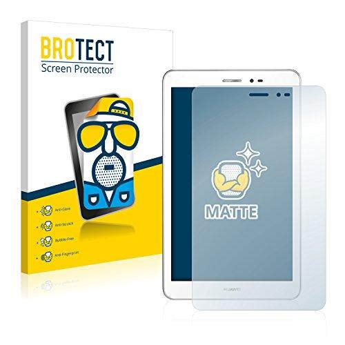 BROTECT Schutzfolie Matt für Huawei MediaPad T1 8.0 Displayschutzfolie [2er Pack] - Anti-Reflex Displayfolie, Anti-Fingerprint, Anti-Kratzer