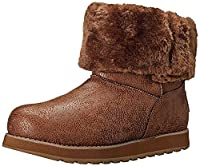 The Skechers Keepsakes Esque Womens Boots are a great winter boot with a leather look finish in a mid-calf height with button detailing.