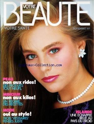 La Peau Froide - VOTRE BEAUTE [No 572] du 01/11/1983 -