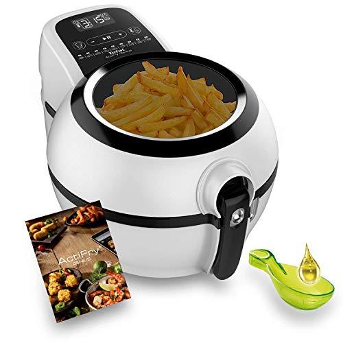 Tefal Actifry Genius Snaking FZ761015 - Freidora sin aceite, de aire 1.2 kg, con 9 programas automáticos y accesorio para snacks, panel táctil intuitivo e incluye recetario, apto lavavajillas