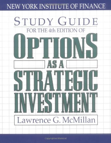 Lawrence Mcmillan Options As A Strategic Investment Pdf