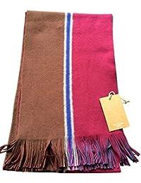 Reversible ( 2 scarves in 1)Stripe Scarf Men New 165cm x 25cm - Paul Smith