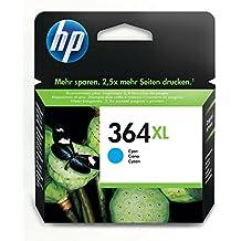 HP CB323EE No.364XL Cartuccia d'Inchiostro Originale 750 Pagine, colore: Ciano [Importato da Germania/Regno Unito]