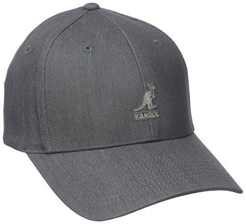Originale Flatcap von Kangol in Grün: Schicke Golfcap für echte Sportskanonen Grau L/XL - Kangol Tweed Cap
