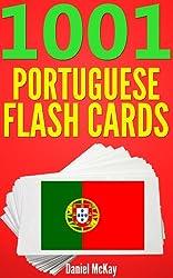 1001 Portuguese Flash Cards : Portuguese Vocabulary Builder