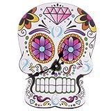 Bilderuhr Day Of The Dead In Skull Form
