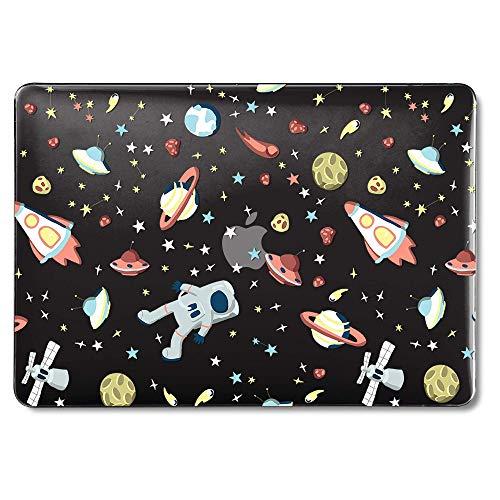 Hülle mit Retina-Display Keine CD-ROM (A1502 / A1425, Version 2015/2014/2013 / Ende 2012), Hartplastik-Hülle - Space Walk Cartoon Stars Planets ()