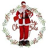Mymgg Elettrico Induzione Babbo Natale 180Cm Ordinaria Violino Rosso Abbigliamento Benvenuto Anziani