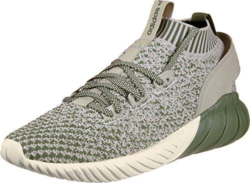 adidas Unisex-Erwachsene Tubular Doom Sock Primeknit Sneakers, Grün, EU grün (Verbas/Sesamo/Blatiz 000)