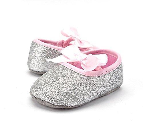 ma-on-hecho-a-mano-plateado-brillante-bownot-zapatos-para-un-ano-de-edad-bebe-nina-12-cm
