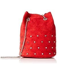 New Look - Tami Tassel, Shoppers y bolsos de hombro Mujer, Rojo (Bright
