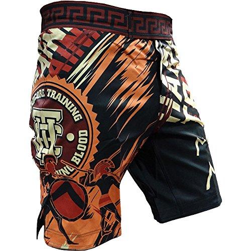 Shorts Hardcore Training Sparta Black-l Pantalones Cortos Hombre