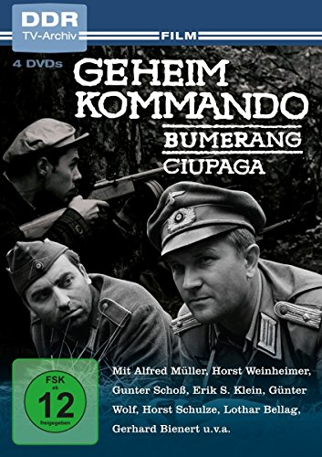 Geheimkommando Bumerang/Geheimkommando Ciupaga (DDR TV-Archiv) (4 DVDs)