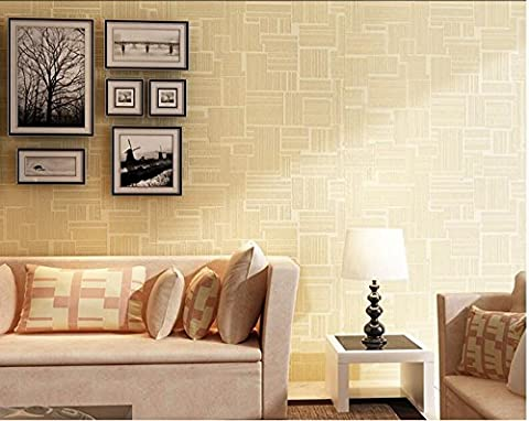 Elegant simple stripe 3D three-dimensional non-woven wallpaper bedroom living room