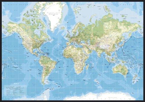 Incado al mejor precio de amazon en savemoney incado map design pin board classic world map gumiabroncs Image collections