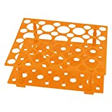 Laboratoire Orange 50 Test Tubes 30 mm 15 mm tubes support Rack