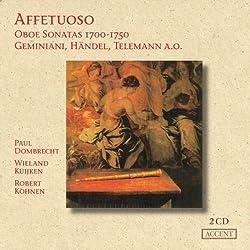 Sonates pour Hautbois (1700-1750)