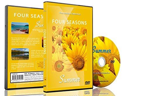 Natur DVD – Vier Jahreszeiten – Sommer mit natürlichen Geräuschen [DVD]
