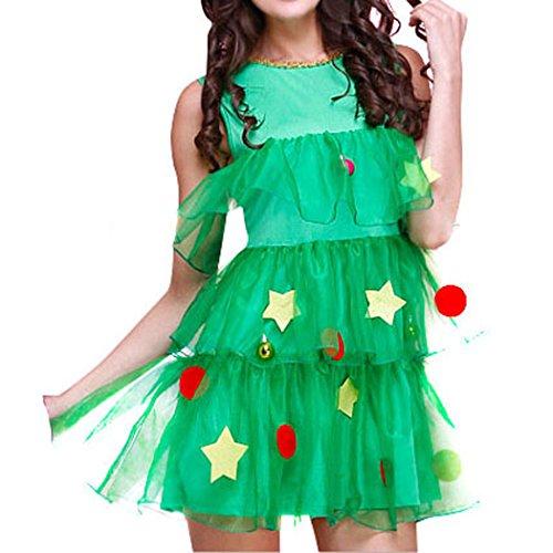 VENI MASEE Frauen Sexy Secret Santa Kostüm/Frau Miss Christmas Santa Fancy Dress Kostüm (Dress Fancy Bank)