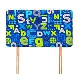 Ready Steady Bed ® Alphabet Children's 0.91 meters Bett-Kopfteil