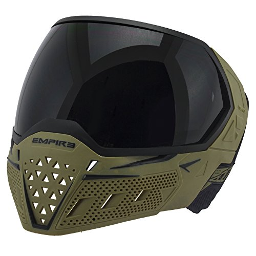 Empire Erwachsene EVS Paintball-Maske, grün, One Size