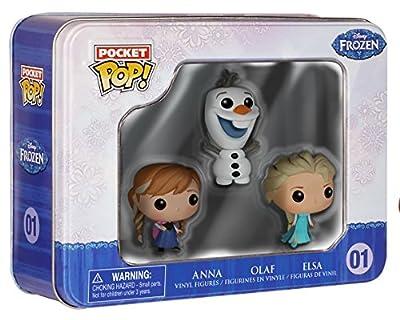 Disney congelado Bolsillo Pop! Mini Figuraa En Vinilo 3-Pack Estaño de Pocket POP!