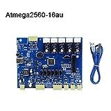 ZREAL G Mighty Board mit IC Atmega1280-16au/Atmega2560-16au + Makerbot 3D Drucker Kabel, 2560