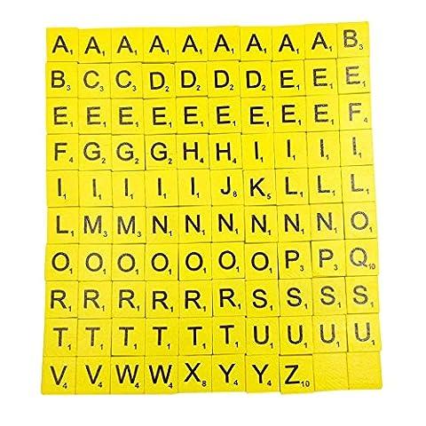 2017Neueste dikewang Kinder Educational Alphabet 100PCS DIY Kids Englisch Literacy