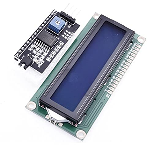 HD44780 1602 display LCD modulo blu retroilluminazione e IIC I2 C interfaccia