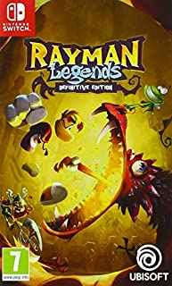 Rayman Legends - Definitive Edition pour Nintendo Switch (B073P61MVR) | Amazon price tracker / tracking, Amazon price history charts, Amazon price watches, Amazon price drop alerts