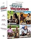 Rendez-vous en terre inconnue : Zazie, Edouard Baer, Bruno Solo & Charlotte de Turckheim - coffret 4 DVD