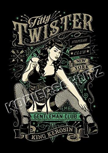 Limitiert !! King Kerosin Poster/Plakat Titty Twister