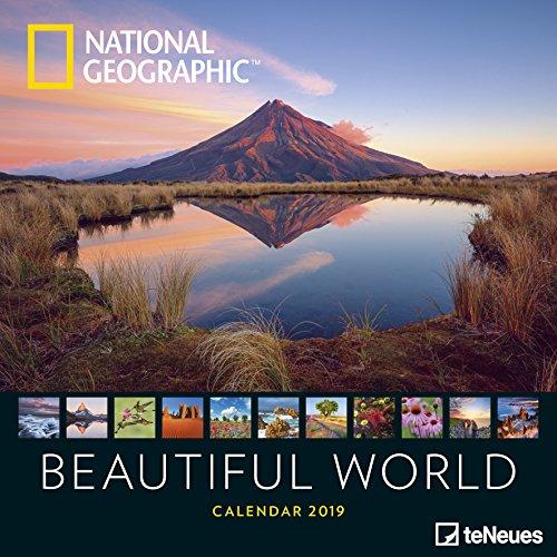 National Geographic Beautiful World 2019 - Posterkalender, Fotokalender, Naturkalender, Landschaftskalender  -  30 x 30 cm