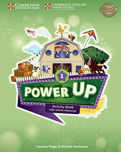 Power up. Level 1. Activity book. With Home booklet. Per la Scuola elementare. Con espansione online