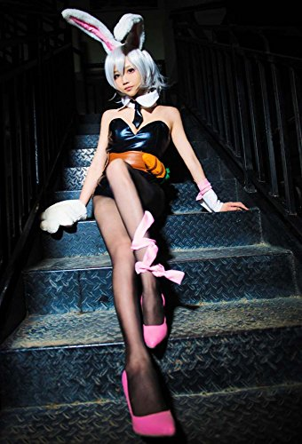Leads Of Legends Riven Bunny Kostüm Hase Kriegerin Games Cosplay (Hutmacher Bunny Kostüme)
