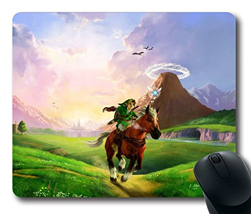 the-legend-of-zelda-ocarina-of-time-custom-custom-design-office-mouse-mat-game-anime-mouse-pad-mouse