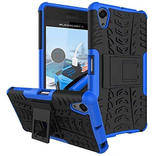 AIBULO® Sony Xperia X performance Hülle TPU Case Schutzhülle Silikon Crystal Case für Sony Xperia X performance (für Sony Xperia X performance, bleu)