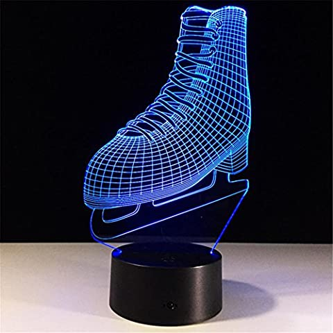 Skates Colorful Remote Control Led Light Creative Personality Cool Decoration